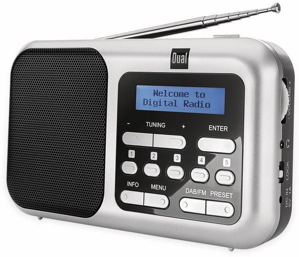 DAB+ Radio DUAL DAB 4.2, silber