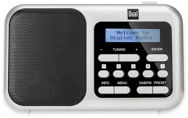 DAB+ Radio DUAL DAB 4.2, silber - Produktbild 2