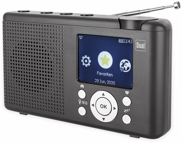 DAB+ Radio DUAL MCR 200, schwarz