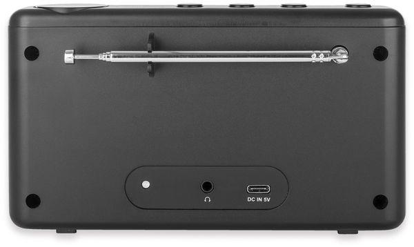 DAB+ Radio DUAL MCR 200, schwarz - Produktbild 4