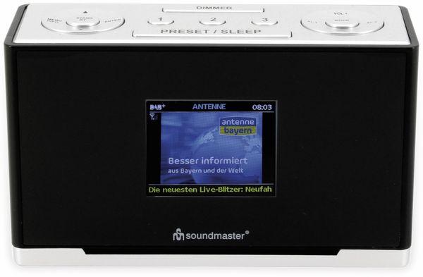 DAB+/UKW Radio SOUNDMASTER UR240SW, schwarz - Produktbild 3