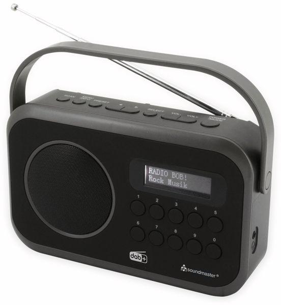 DAB+/UKW Radio SOUNDMASTER DAB270SW, schwarz