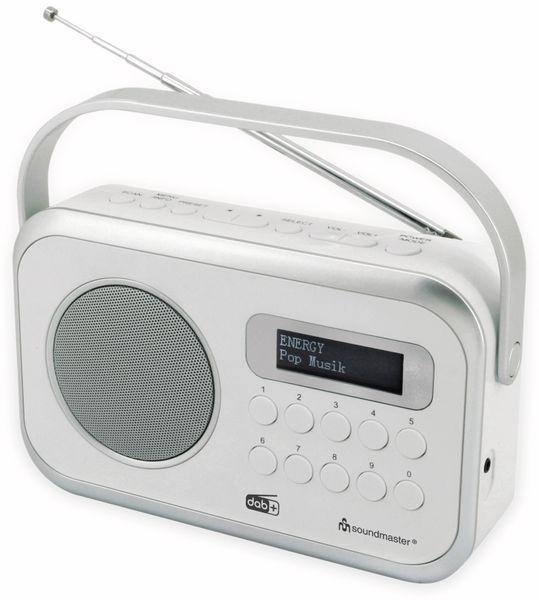 DAB+/UKW Radio SOUNDMASTER DAB270WE, weiß