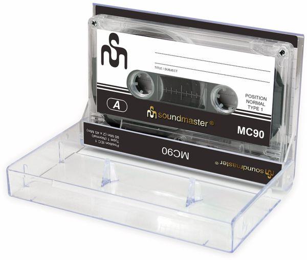 Leerkassette SOUNDMASTER MC90 IEC1, 5er Pack