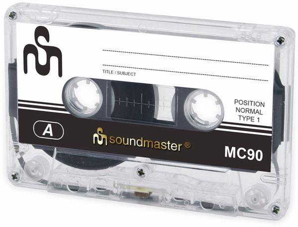 Leerkassette SOUNDMASTER MC90 IEC1, 5er Pack - Produktbild 3