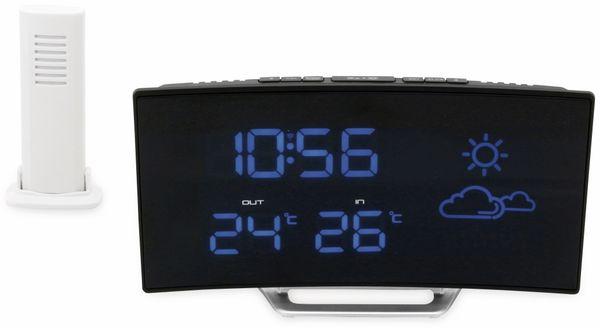 Uhrenradio SOUNDMASTER FUR100, mit Wetterstation, Funk, schwarz - Produktbild 2