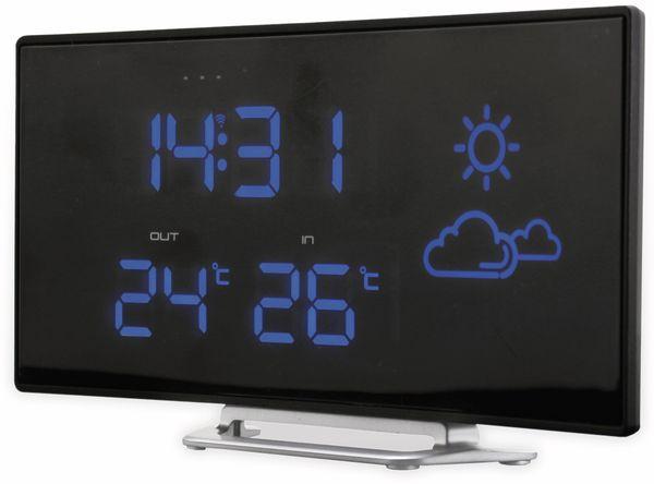 Uhrenradio SOUNDMASTER FUR100, mit Wetterstation, Funk, schwarz - Produktbild 3