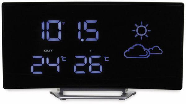 Uhrenradio SOUNDMASTER FUR100, mit Wetterstation, Funk, schwarz - Produktbild 4