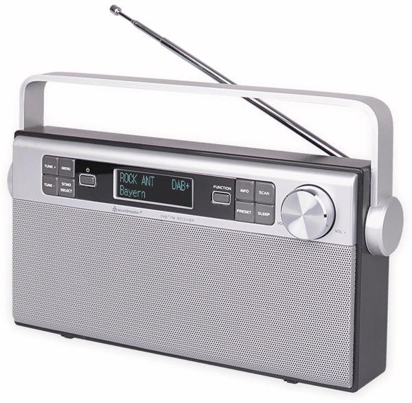 DAB+/UKW Radio SOUNDMASTER DAB650SI, silber