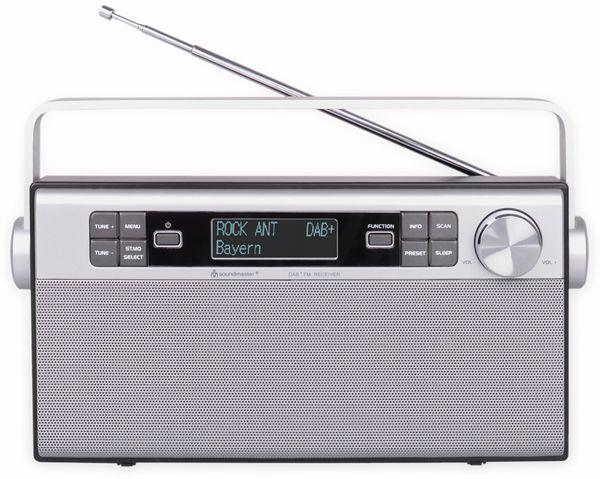 DAB+/UKW Radio SOUNDMASTER DAB650SI, silber - Produktbild 2