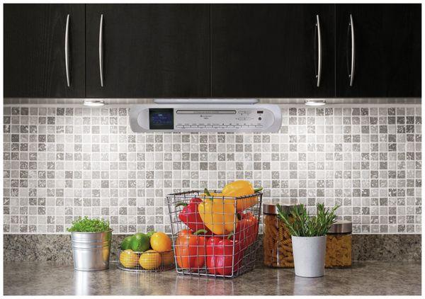 Küchenunterbauradio SOUNDMASTER UR2170SI, DAB+, UKW, silber - Produktbild 2