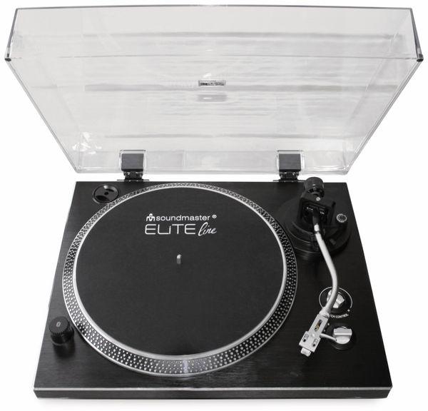 Plattenspieler SOUNDMASTER ELITE LINE PL780SW, schwarz - Produktbild 6
