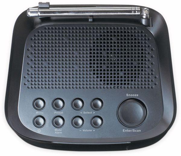 DAB+/FM Uhrenradio LENCO CR-605BK, schwarz - Produktbild 3