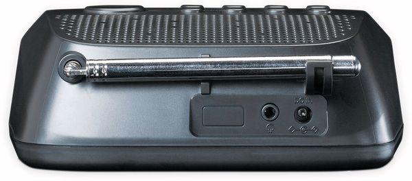 DAB+/FM Uhrenradio LENCO CR-605BK, schwarz - Produktbild 4