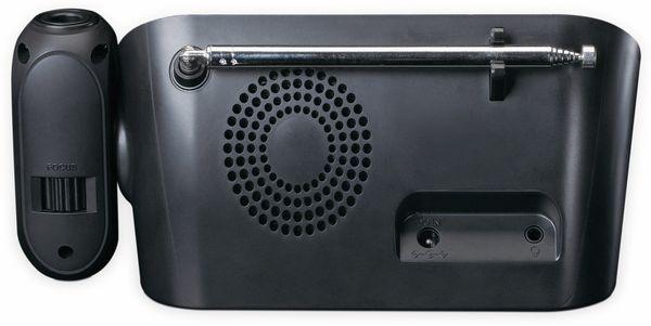 DAB+/FM Uhrenradio LENCO CR-615BK, mit Projektor, schwarz - Produktbild 4