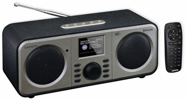 DAB+/FM Radio LENCO DAR-030BK, Bluetooth
