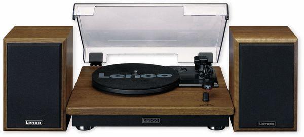 Plattenspieler LENCO LS-100WD, holzoptik, Bluetooth, mit 2 Lautsprecherboxen - Produktbild 2