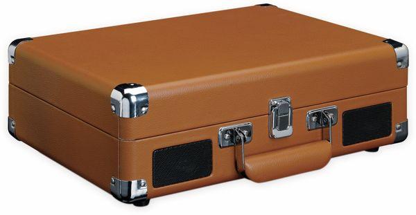 Plattenspieler LENCO TT-10BN, Retro-Stil, mit integrierten Lautsprechern - Produktbild 3