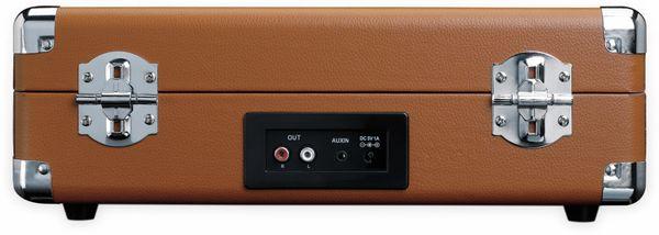 Plattenspieler LENCO TT-10BN, Retro-Stil, mit integrierten Lautsprechern - Produktbild 5