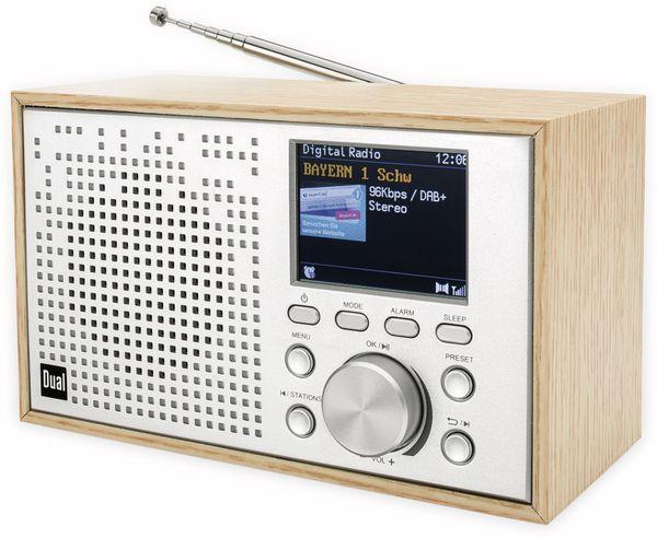 DAB+/UKW Radio DUAL DCR 100, Bluetooth, Holzgehäuse