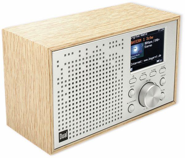 DAB+/UKW Radio DUAL DCR 100, Bluetooth, Holzgehäuse - Produktbild 2