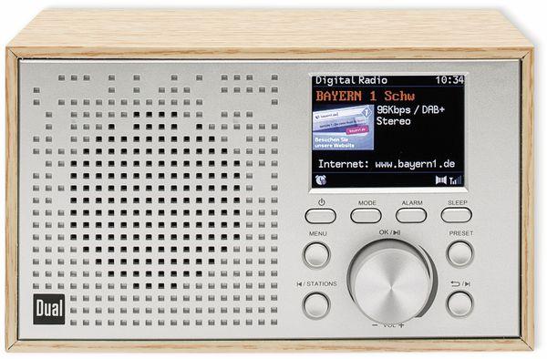 DAB+/UKW Radio DUAL DCR 100, Bluetooth, Holzgehäuse - Produktbild 3