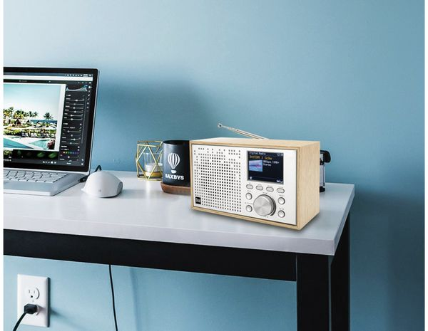 DAB+/UKW Radio DUAL DCR 100, Bluetooth, Holzgehäuse - Produktbild 6