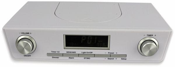 Küchenradio KCR281, weiß, B-Ware