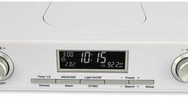 Küchenradio KCR281, weiß, B-Ware - Produktbild 4