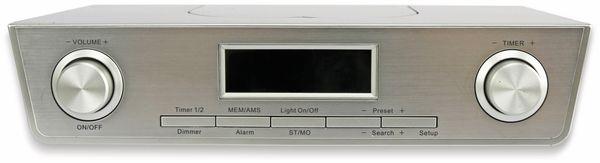 Küchenradio KCR281, silber, B-Ware