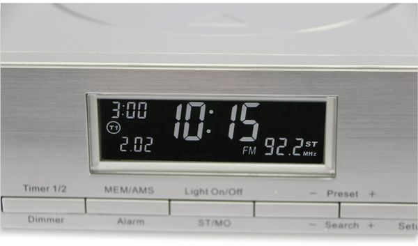 Küchenradio KCR281, silber, B-Ware - Produktbild 4