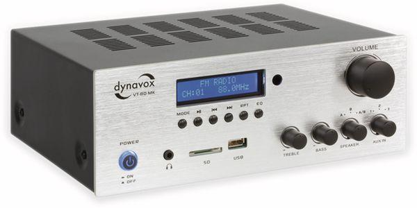 Kompakt-Verstärker DYNAVOX VT-80 MK, silber - Produktbild 2