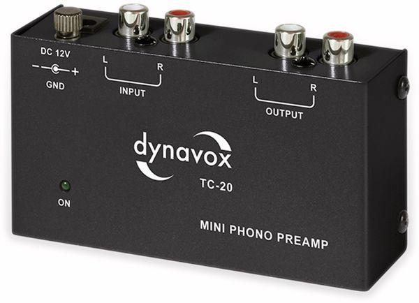 Phono-Vorverstärker DYNAVOX TC-20, schwarz