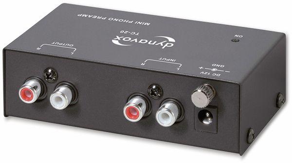 Phono-Vorverstärker DYNAVOX TC-20, schwarz - Produktbild 2