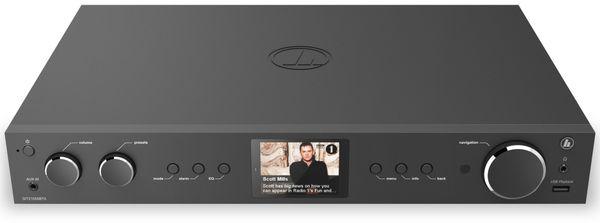 Hifi-Tuner HAMA DIT2105SBTX, DAB+, Internetradio, Bluetooth, schwarz