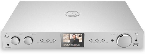 Hifi-Tuner HAMA DIT2105SBTX, DAB+, Internetradio, Bluetooth, silber