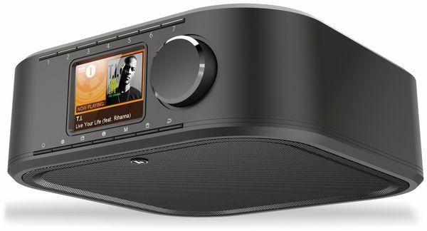 Küchenunterbauradio HAMA DIR355BT, DAB+, Internetradio, Bluetooth, schwarz
