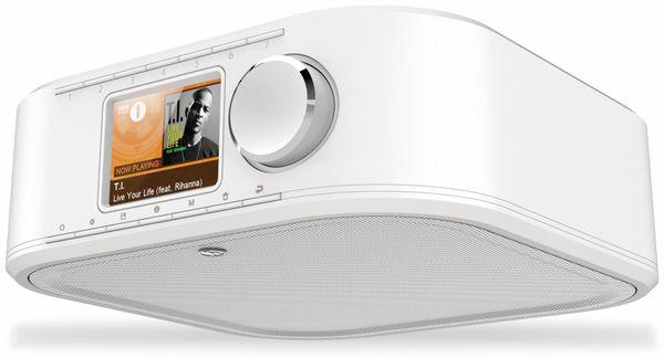 Küchenunterbauradio HAMA DIR355BT, DAB+, Internetradio, Bluetooth, weiß