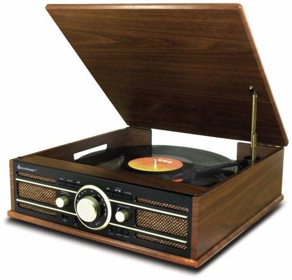 Plattenspieler SOUNDMASTER PL550BR