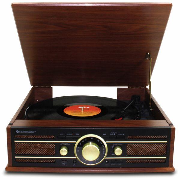 Plattenspieler SOUNDMASTER PL550BR - Produktbild 2