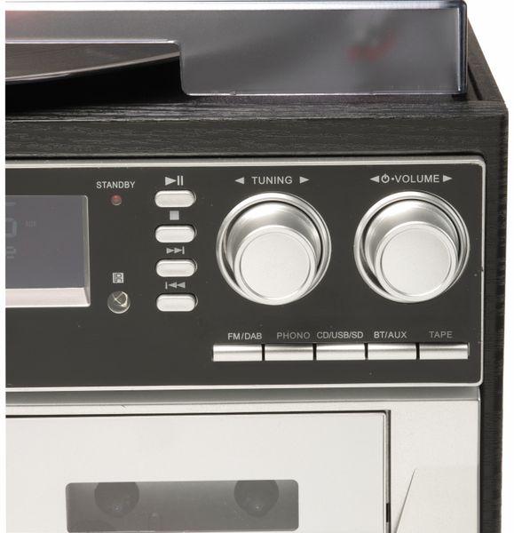 Stereoanlage DENVER MRD-166, DAB+/FM, CD-Player, Turntable, Dual Cassettendeck - Produktbild 3
