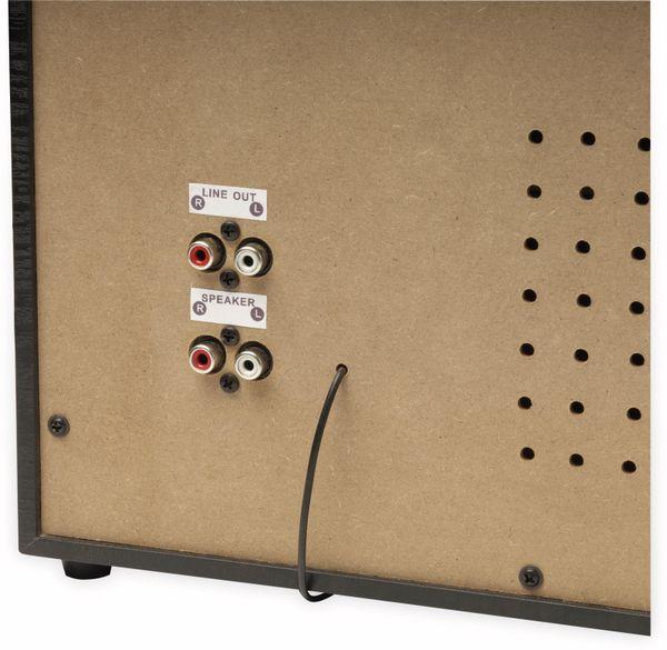 Stereoanlage DENVER MRD-166, DAB+/FM, CD-Player, Turntable, Dual Cassettendeck - Produktbild 4