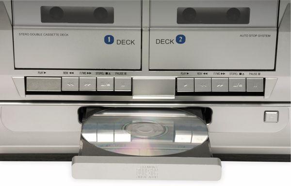 Stereoanlage DENVER MRD-166, DAB+/FM, CD-Player, Turntable, Dual Cassettendeck - Produktbild 5