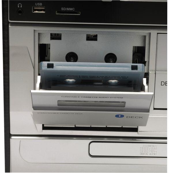 Stereoanlage DENVER MRD-166, DAB+/FM, CD-Player, Turntable, Dual Cassettendeck - Produktbild 6