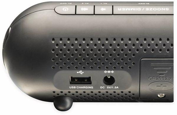 Uhrenradio DENVER CPR-700, schwarz, mit Projektion - Produktbild 6