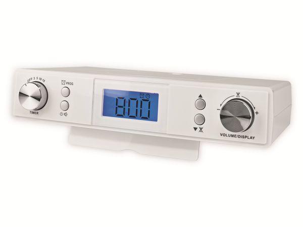 Küchenunterbauradio NEDIS RDFM4010WT, UKW, weiß - Produktbild 2