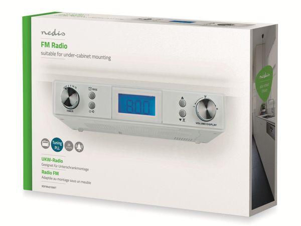Küchenunterbauradio NEDIS RDFM4010WT, UKW, weiß - Produktbild 3