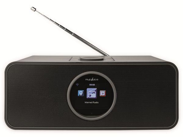 Internetradio NEDIS, RDIN4000BK, 42 W, FM, Bluetooth, schwarz - Produktbild 2