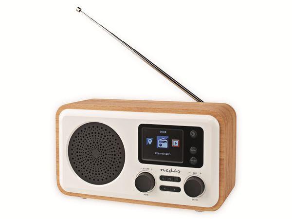 Internetradio NEDIS, RDIN2000WT, 7 W, DAB+/FM, Bluetooth