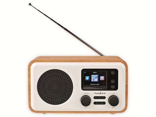 Internetradio NEDIS, RDIN2000WT, 7 W, DAB+/FM, Bluetooth - Produktbild 2